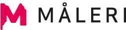 M Måleri Logotyp